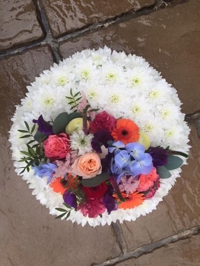 classic posy for funerals