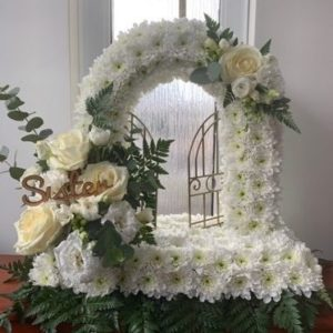 gates of heaven floral tribute by the dancing daffodil