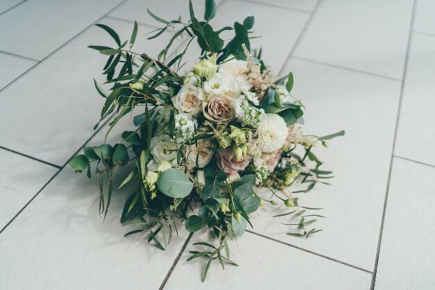 Rhians Wedding Bouquet by The Dancing Daffodil